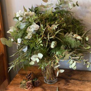 Christmas Foliage Arrangement