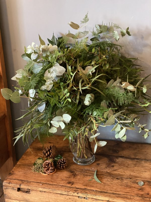 Christmas Foliage Arrangement