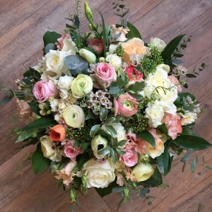 Pastel Colour Floral Arrangement