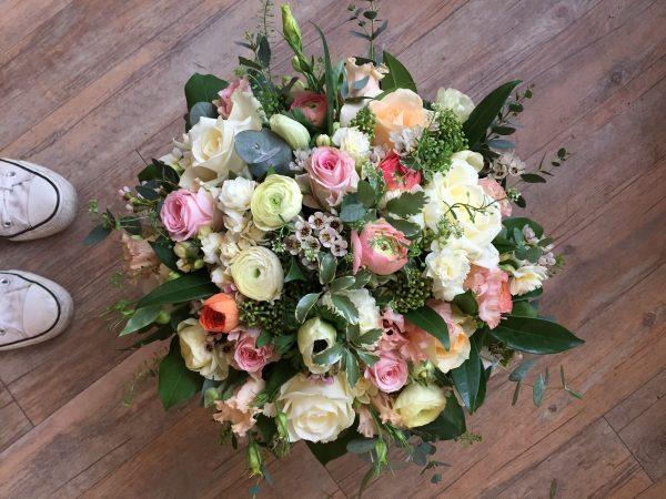 Pastel Colour Floral Arrangement